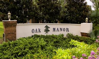 Community Signage, Oak Manor Apartment Homes, 2