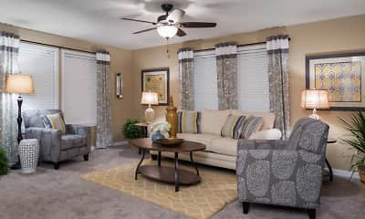Living Room, Rivers Edge, 1