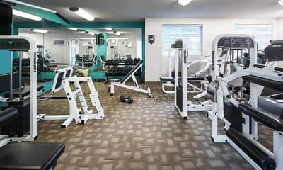 Fitness Weight Room, Highpointe by Broadmoor, 2