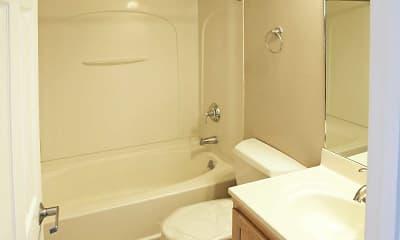 Bathroom, St. Francis Apartments, 2