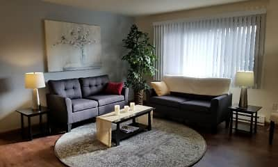 Living Room, Woodfield Heights, 0