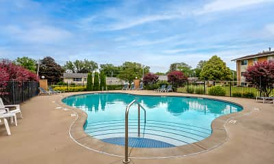 Pool, Scotsdale Apartments, 0