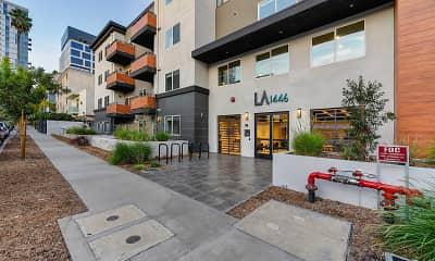Building, LA1446 Tamarind, 2