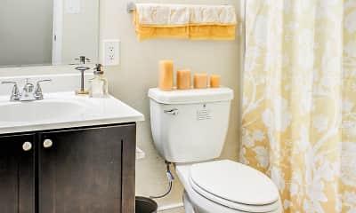 Bathroom, Meridian Bay Apartments, 2