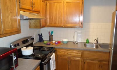 Kitchen, Liberty Court, 1
