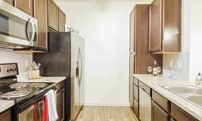 Kitchen, Sorrento Apartments, 1