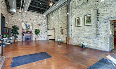 Foyer, Entryway, Schuster Lofts, 1