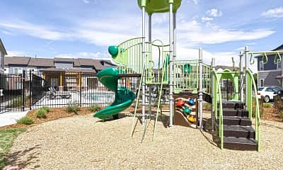 Playground, Willow Point Townhomes, 2