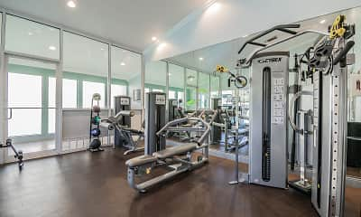 Fitness Weight Room, Legend Oaks, 2