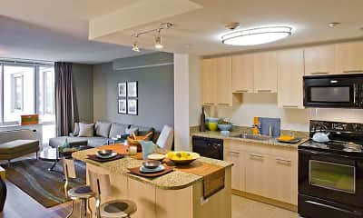 Kitchen, Avalon White Plains, 1