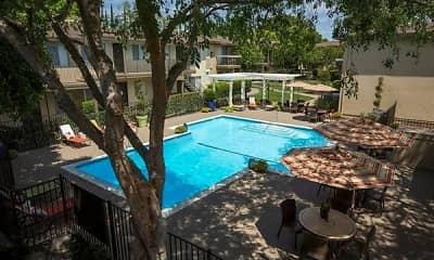 Pool, Abby Creek Apartment Homes, 1