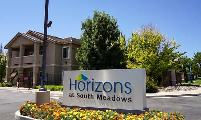 Community Signage, Horizons At South Meadows, 1