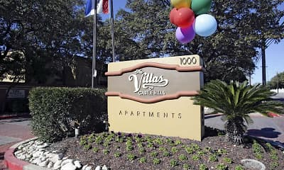 Community Signage, Villas of Castle Hills, 2