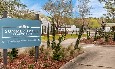 Community Signage, Summer Trace Apartments, 0