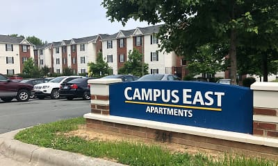 Building, Campus East - Lease By The Bed, 2