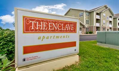 Community Signage, The Enclave, 2