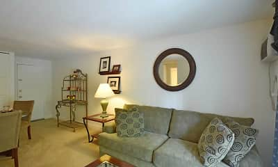 Living Room, Southwind Apartments, 1