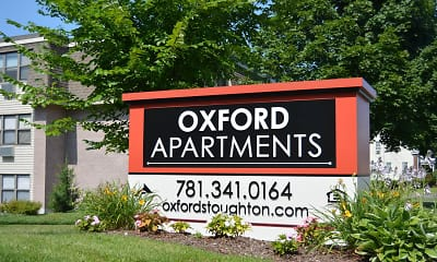Community Signage, Oxford Apartments, 0