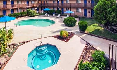 Pool, La Petite Chateau Apartments, 0