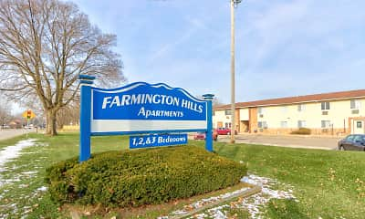 Community Signage, Farmington Hills Apartments, 0