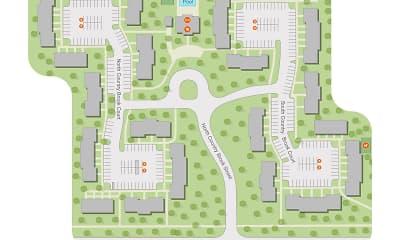 plan, Parkview Rental Townhomes, 2