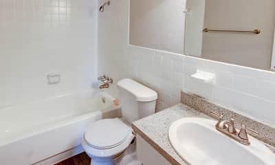 Bathroom, Hunnicut Park, 2