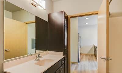 Bathroom, Capitol's Edge Apartments, 2