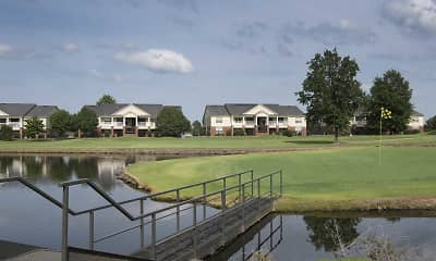 Lake, The Links at Fort Smith, 2