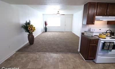 Living Room, Camelot Apartments, 0