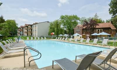 Pool, California Apartments, 2