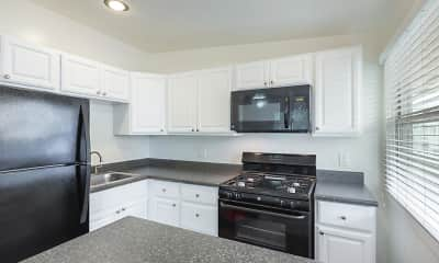 Kitchen, Elan Beachcomber La Jolla, 1