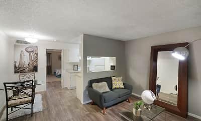 Living Room, Tides at East Glendale, 1