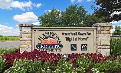 Community Signage, Champions Crossing - San Marcos, 0