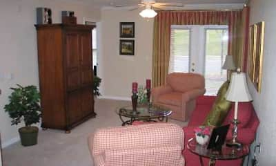 Living Room, Rivermere Apartments, 2