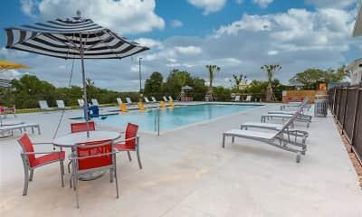 Pool, Davenport Place, 1