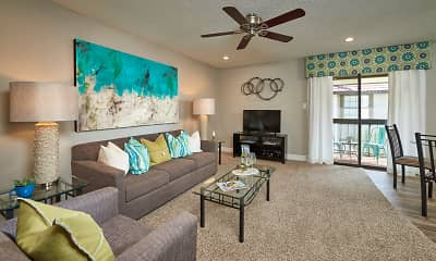 Living Room, Villagio Ultra Premium Furnished Apartments, 1