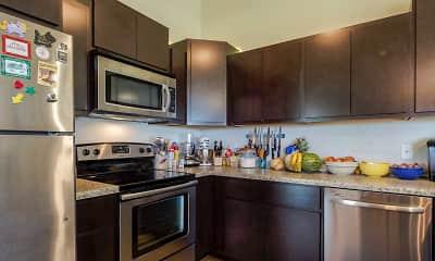 Kitchen, Scenic Ridge Apartments, 1