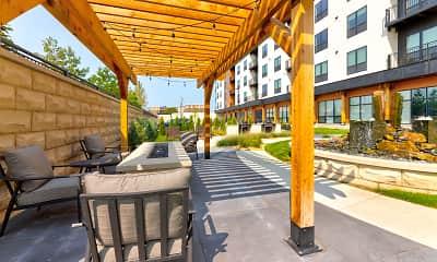 Patio / Deck, The Elmwood Senior Apartments, 1