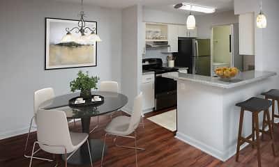 Kitchen, Blairstone Apartment Homes, 1