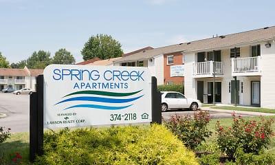 Community Signage, Spring Creek Apartments, 0
