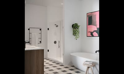 Bathroom, Harlowe, 2