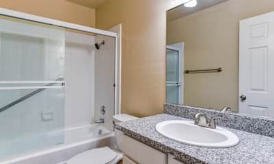Bathroom, Seacliff Apartments, 2
