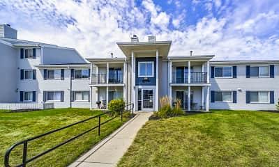 Building, Riverbend Apartments, 1