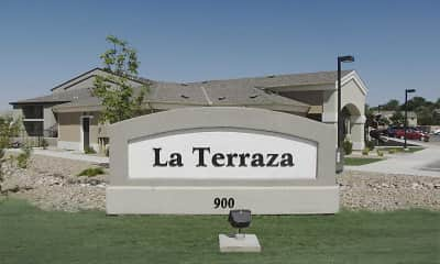 Community Signage, La Terraza Apartments, 2