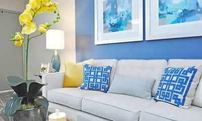 Living Room, Element at Cedar Bluff, 1