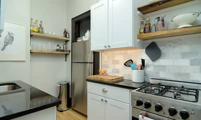 Kitchen, Lowry Hills Apartments, 2