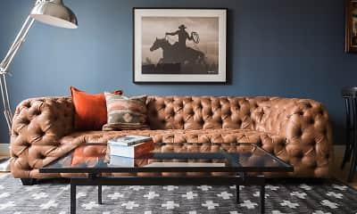 Living Room, Galleria Parc Apartments, 1