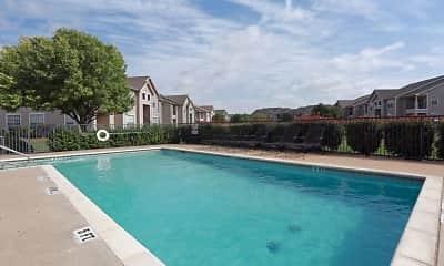 Pool, Madison Trail Apartments, 2