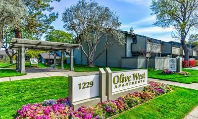 Community Signage, Olive West, 0