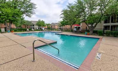 Pool, Garden Gate Apartments, 0